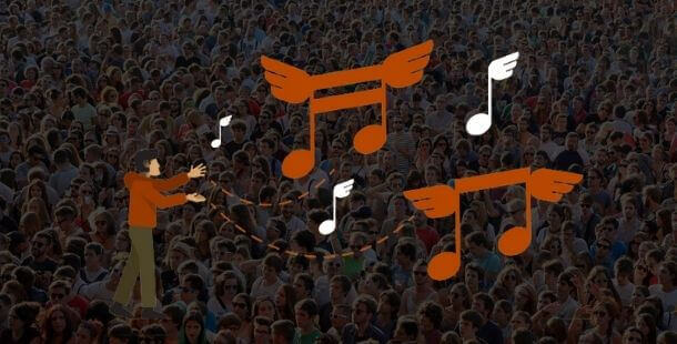 Promotions for musicians